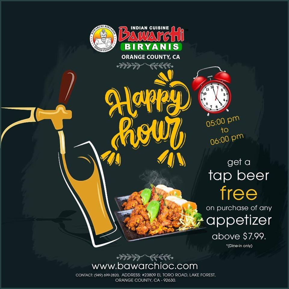 Happy Hour Marketing Flyer