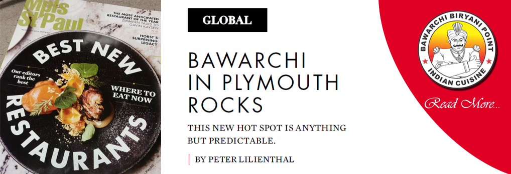 Bawarchi in Plymouth Rocks, Nominated Best New Restaurants