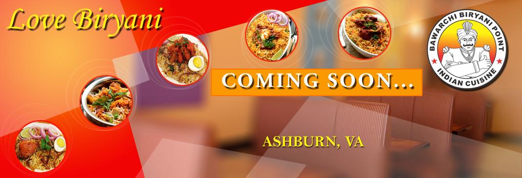 Bawarchi coming soon location - Ashburn VA