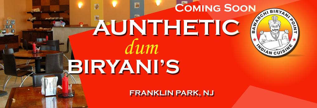 Bawarchi coming soon location - Franklin Park NJ