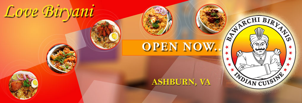 Bawarchi Ashburn, VA - Open now