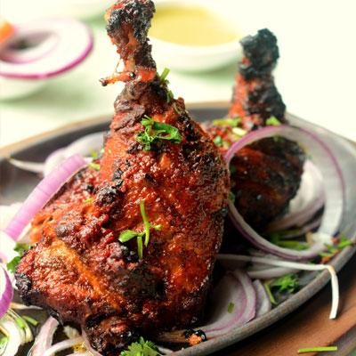 Sizzling Tandoori Chicken