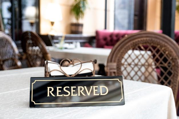Reservation Sign