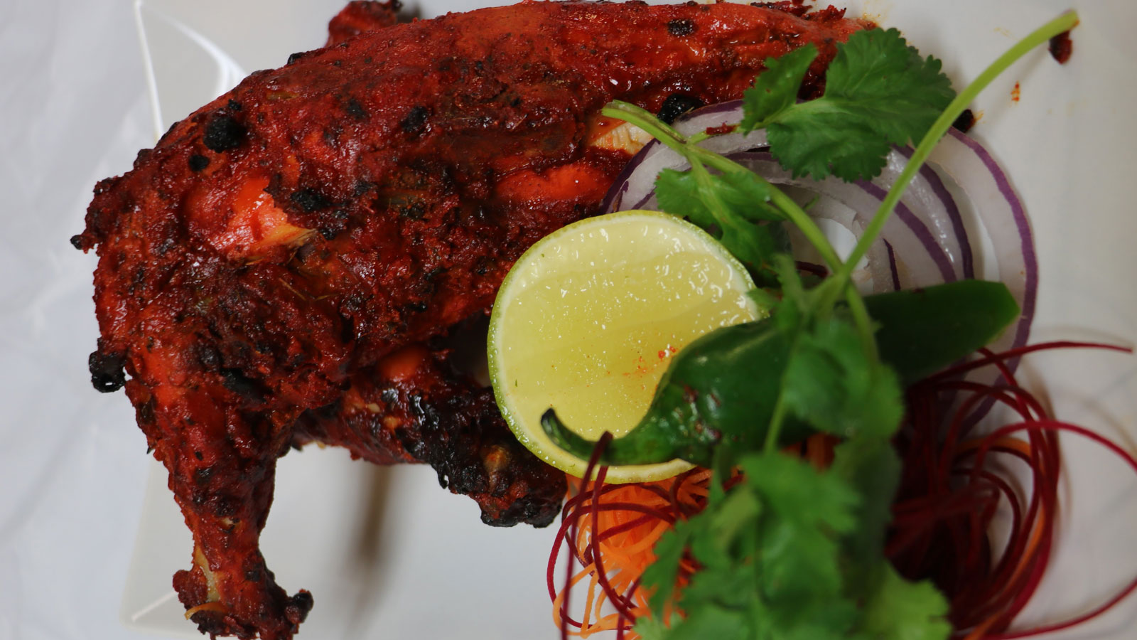 Tandoori chicken bawarchi for Indian kitchen coral springs