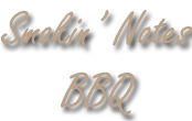 Smokin Notes BBQ Logo